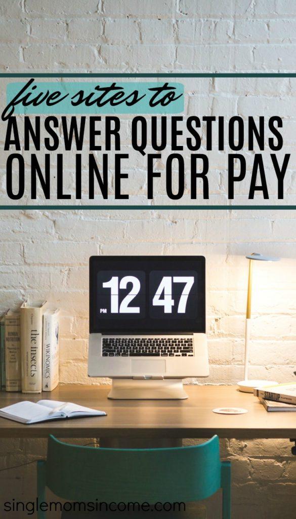 Gagner de l'argent en répondant à des questions en ligne 5 sites payants.