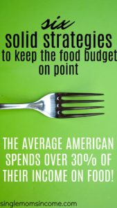 Ne laissez pas la nourriture détruire votre budget. Voici six stratégies pour maîtriser le budget alimentaire.