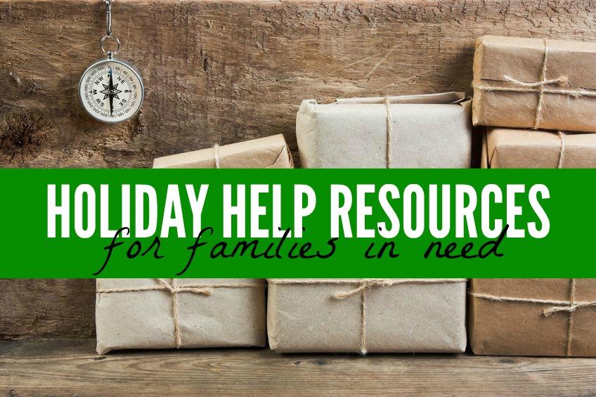 Il ya beaucoup de vacances d'aide pour les familles dans le besoin pendant cette période de l'année et vous le devez pour explorer toutes vos options et passer des vacances sans stress et joyeuses fêtes.