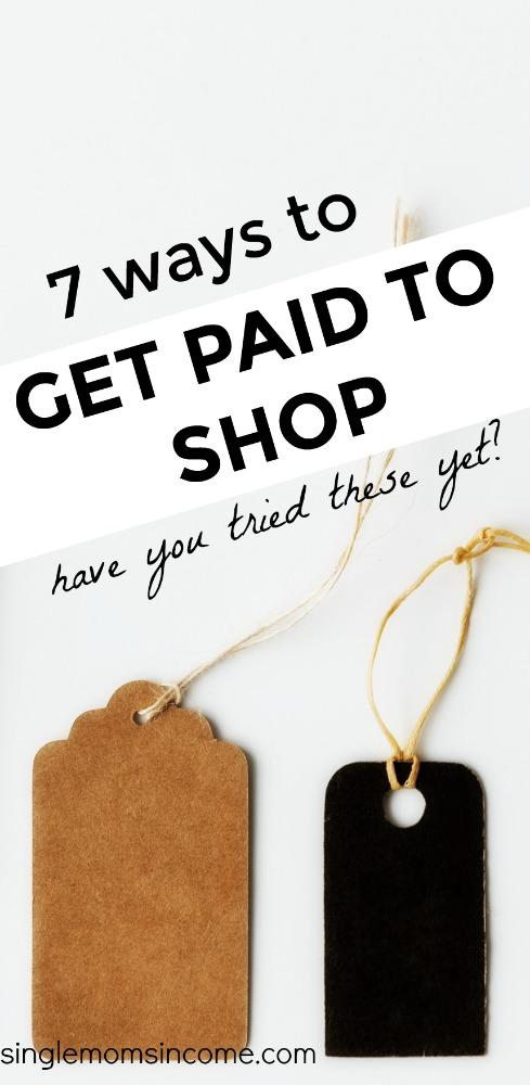 Vous avez toujours voulu être payé pour faire du shopping? Si cela semble être un avantage improbable, vous vous trompez. #SAVEMONEY #FRUGAL