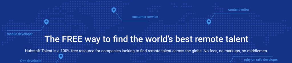 Hubstaff Talent est l'un des sites d'emploi distants que vous pouvez utiliser pour trouver les meilleurs postes de travail sans escroquerie!
