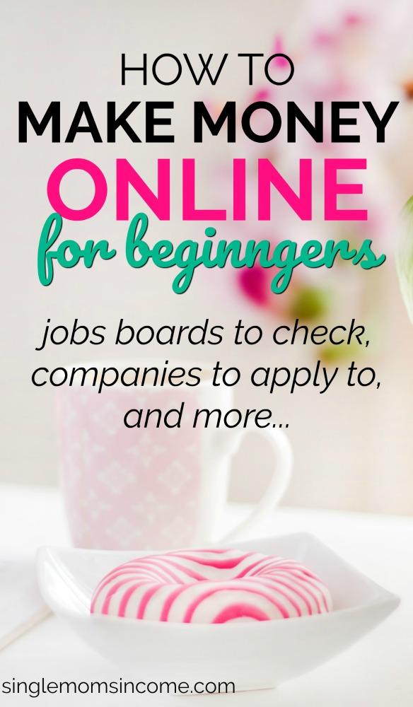 la plupart des opportunités de travail à domicile pour débutants ne requièrent ni compétences ni certifications avancées. Voici quelques conseils pour gagner de l'argent en ligne pour les débutants. #makemoney #workfromhome #legitworkfromhome #makemoneyonline