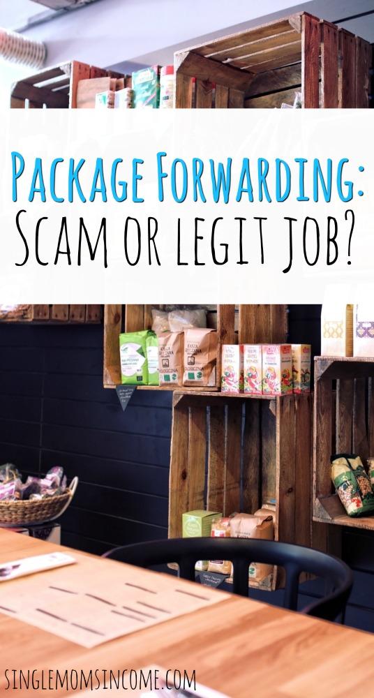 Vous vous demandez si la transmission de paquets est un travail légitime? Voici ce que vous devez savoir. #scams #workfromhome