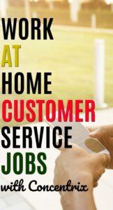 Si vous cherchez un travail à domicile avec le service à la clientèle, Concentrix recrute souvent. Cette entreprise dispensera une formation et vous mettra en contact avec une entreprise. #workathome #makemoneyonline