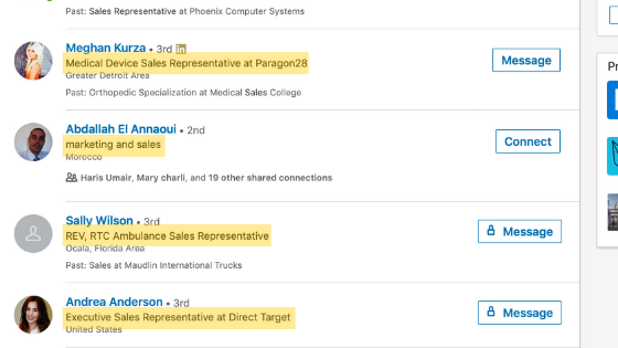 Votre titre est une partie importante de votre profil LinkedIn! S'il ne contient pas de mot clé, vous commettez l'une des principales erreurs du profil LinkedIn.
