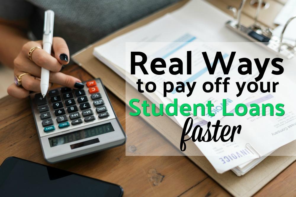 Les prêts étudiants pourraient être le prochain grand désastre financier. Voici sept façons réelles de rembourser vos prêts étudiants plus rapidement et de vous libérer de leur fardeau. #studentloans #debt