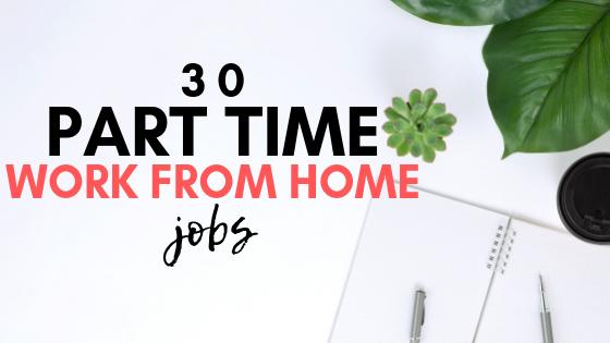 Vous cherchez à gagner de l'argent supplémentaire selon votre propre horaire? Si tel est le cas, voici 30 emplois à temps partiel à domicile. Le salaire horaire et les heures sont également indiqués.