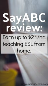 Il existe de nombreuses entreprises qui engagent des enseignants d'anglais langue seconde pour travailler à domicile. Découvrez les exigences et la rémunération de SayABC dans notre revue. #sidehustle #tutoring #ESLteaching