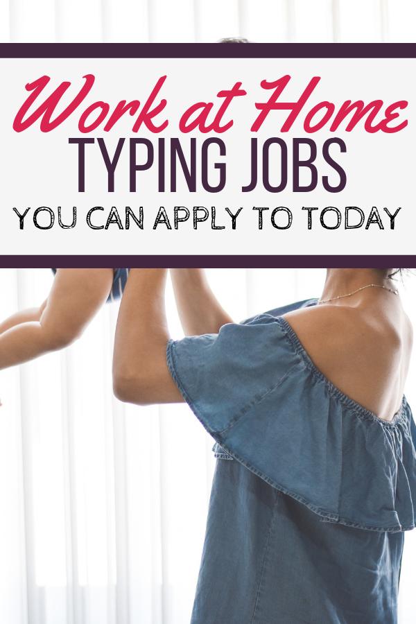Jobs at Home Typing Jobs | 10 entreprises légitimes auxquelles vous pouvez postuler aujourd'hui.