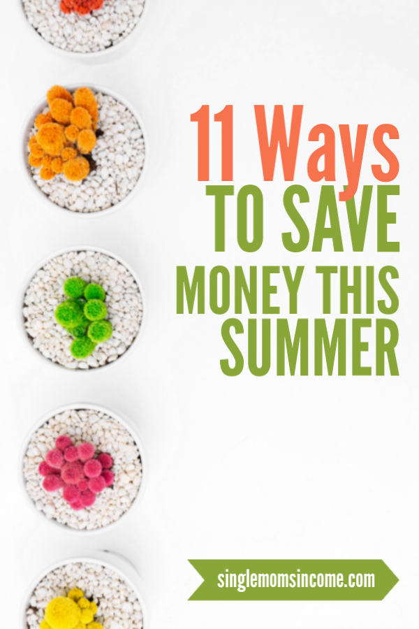 Ne laissez pas l'été vider votre compte en banque! Voici 11 façons d'économiser de l'argent cet été. (La plupart sont très faciles à mettre en œuvre!) #Savemoney #frugal #summersavings