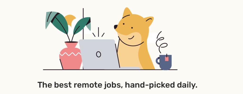 Trouvez le travail à distance aujourd'hui en utilisant Remotive!