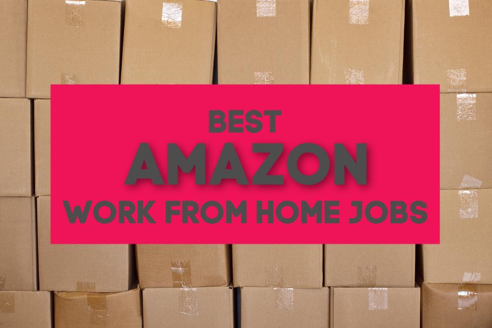 Vous cherchez un travail à domicile avec une entreprise de bonne réputation? Voici les cinq meilleurs travaux Amazon à domicile - quelque chose pour tous les niveaux de compétences.