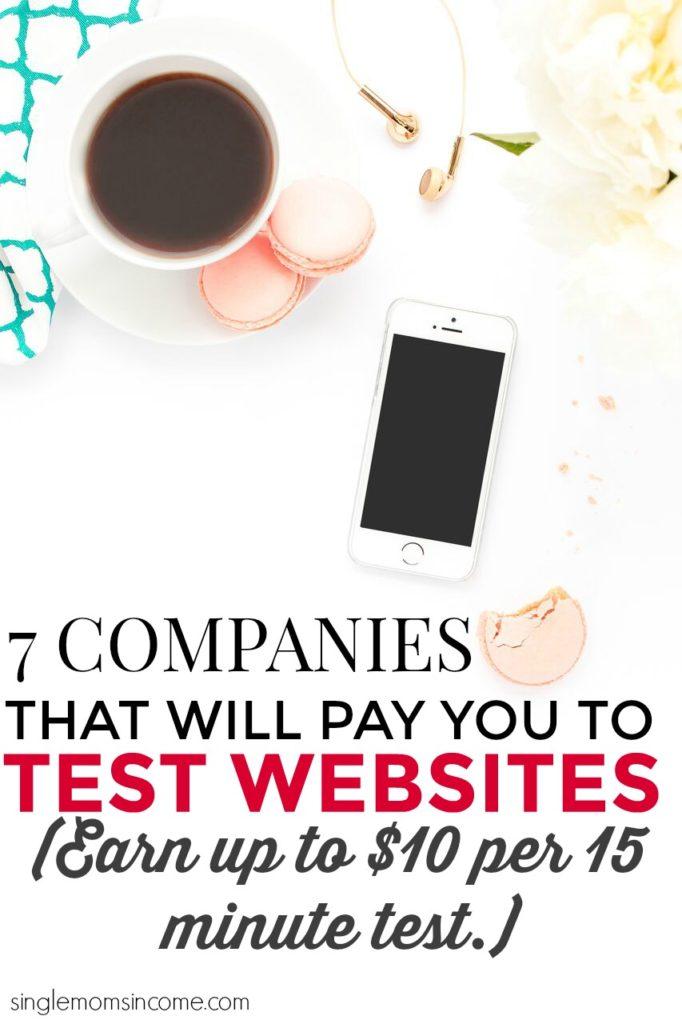 Saviez-vous que vous pouvez réellement gagner de l'argent en testant des sites Web? C'est vrai et le salaire est meilleur que celui de la plupart des autres concerts en ligne.