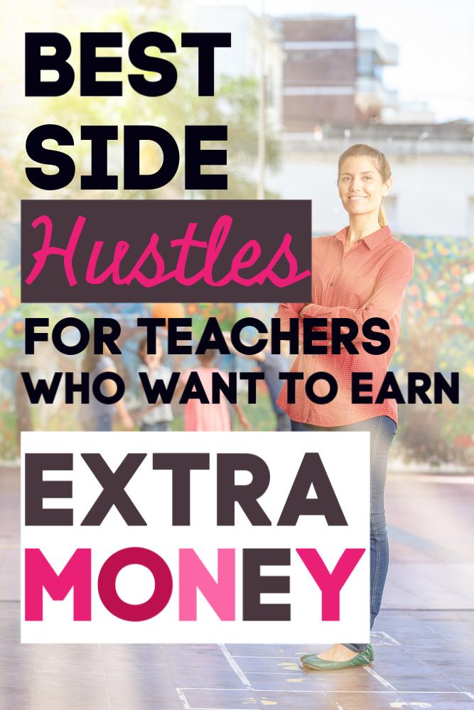 En tant qu'enseignant, si vous voulez gagner de l'argent supplémentaire, vous avez beaucoup d'options. Voici quelques-uns des meilleurs problèmes pour les enseignants qui sont flexibles. #sidehustle #teachers #workfromhome