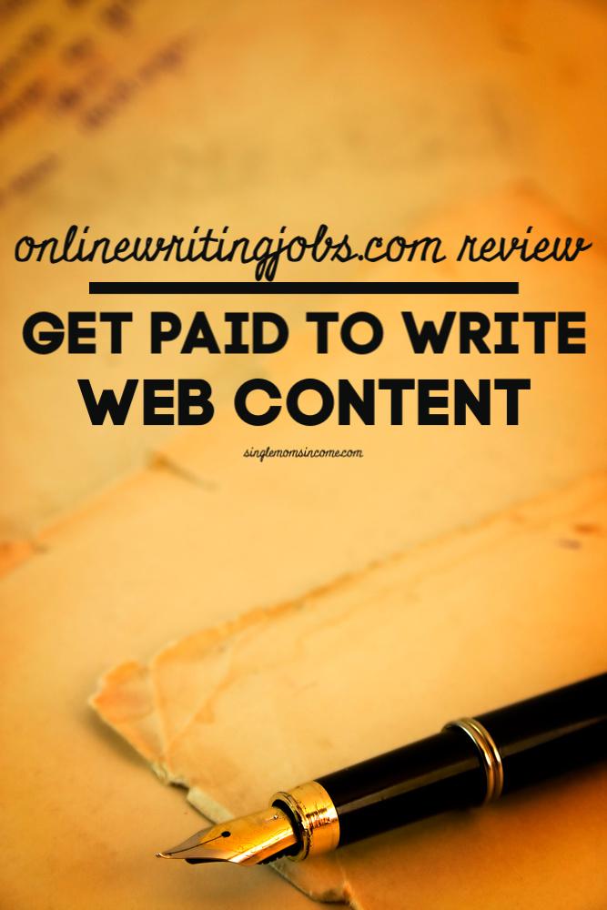 Si vous êtes un écrivain à la recherche d'une source de revenus supplémentaire, vous pouvez envisager ce site. En savoir plus dans notre revue onlinewritingjobs.com. #freelancewriting #makemoneywriting #workfromhome