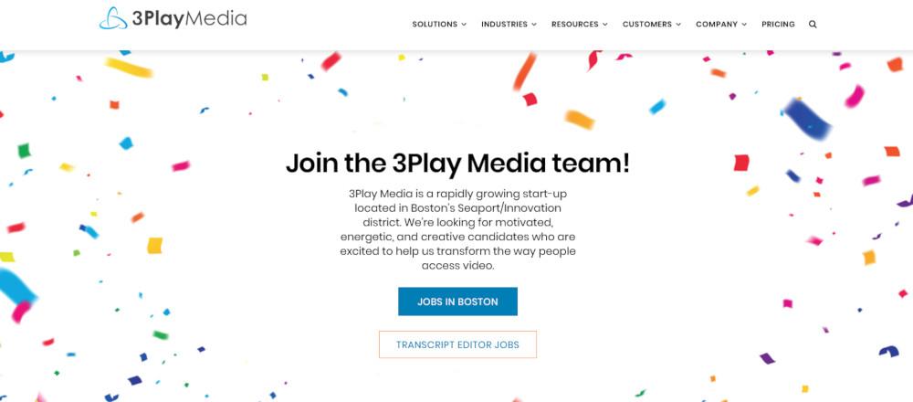Vous cherchez un travail de transcriptin bien rémunéré? Apprenez à gagner jusqu'à 30 $ / heure. de la maison dans notre revue 3Play Media. (Aucun diplôme universitaire requis.)