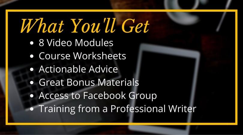 Gagnez plus de cours d'écriture. Les cours sont un moyen pour les écrivains de gagner un revenu passif