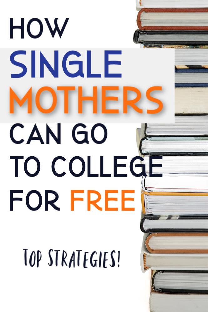 Si vous êtes une mère célibataire qui souhaite retourner au collège, vous pouvez le faire gratuitement. Aujourd'hui, nous partageons nos meilleures stratégies. #singlemom #college #savemoney