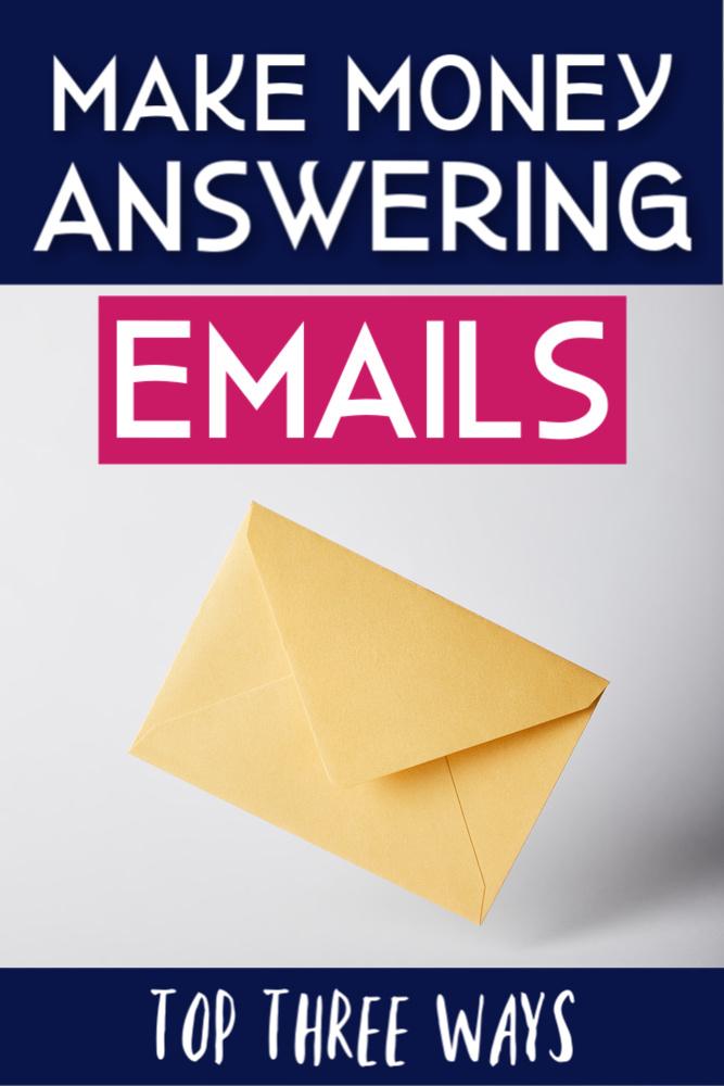 Gagnez de l'argent en répondant à des emails. La vérité. #workathome #answeremails #sidehustle
