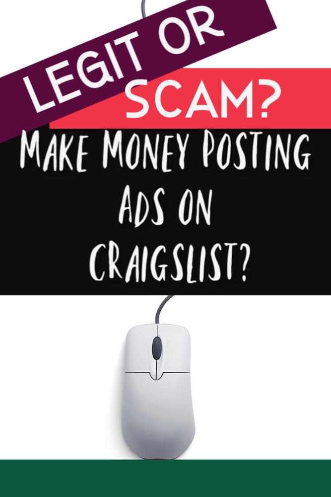 C'est le vieil adage - si cela semble trop beau pour être vrai, ça l'est. Alors, pouvez-vous vraiment gagner de l'argent en publiant des annonces sur Craigslist? Regardons de plus près.