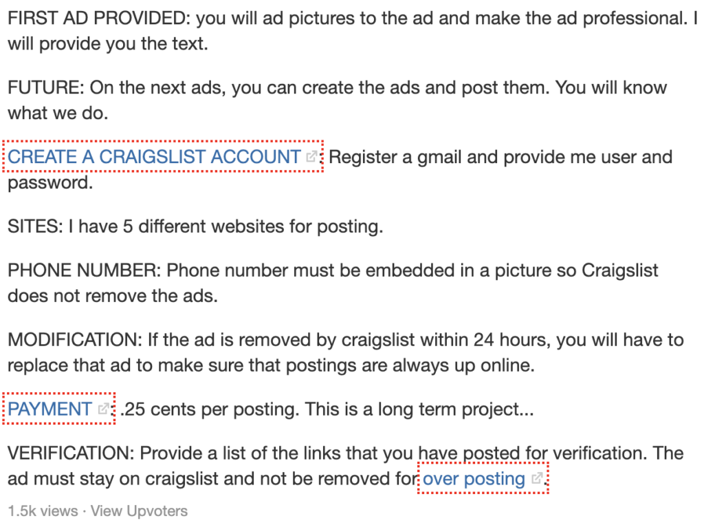 Est-il possible de gagner de l'argent en publiant des annonces sur Craigslist?