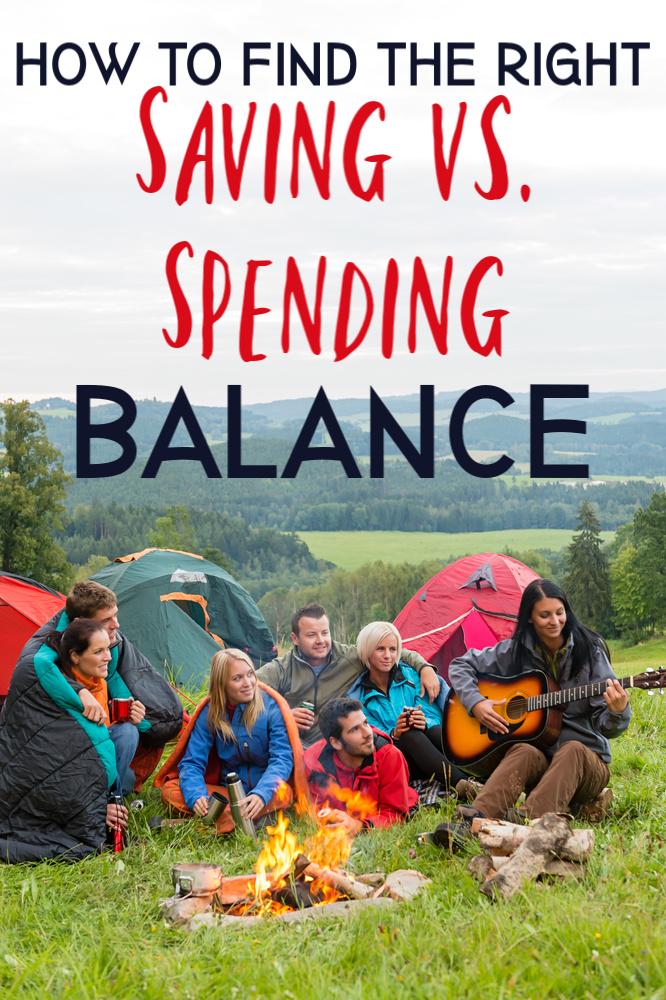 Il peut être difficile de décider s'il faut dépenser ou économiser. Voici comment trouver l'équilibre entre vivre pour le moment et préparer l'avenir! #pending #saving