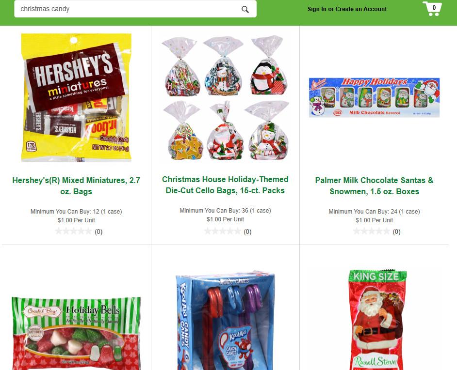 Les bonbons de Noël de Dollar Tree font d'excellents bas de Noël!