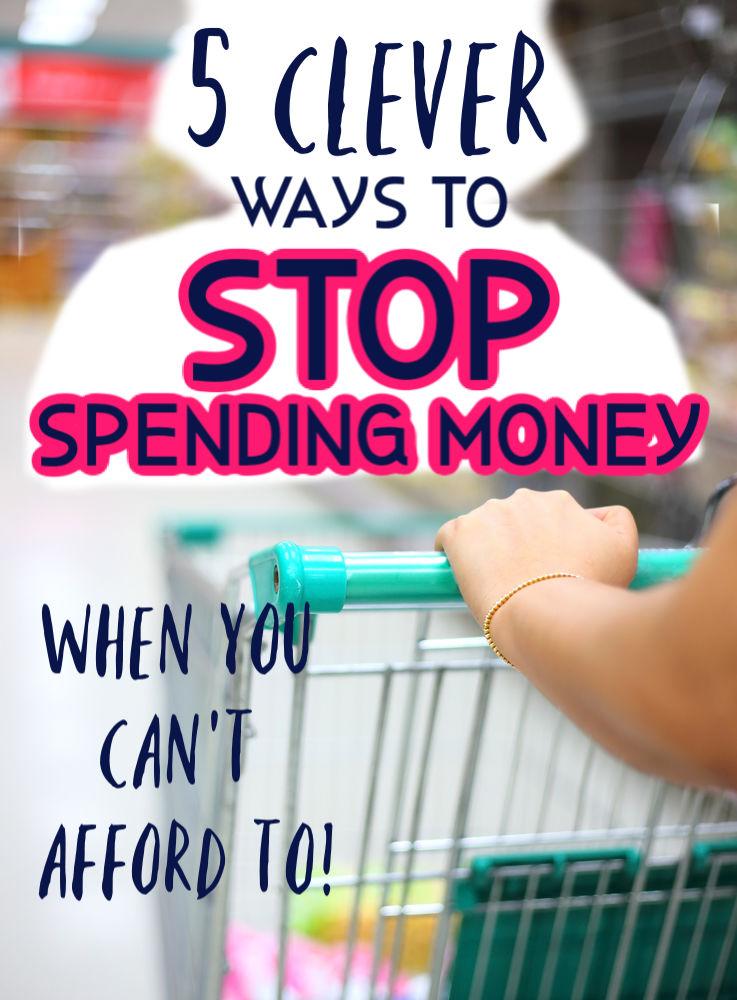 Marre de dépenser impulsivement tout votre argent durement gagné? Si tel est le cas, vous adorerez ces cinq moyens astucieux d'arrêter de dépenser lorsque vous ne pouvez vous le permettre.