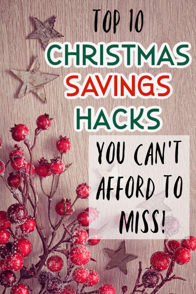 Ne laissez pas vos dépenses de Noël devenir incontrôlables. Respectez votre budget et réduisez votre niveau de stress avec ces dix incroyables trucs pour économiser sur Noël!