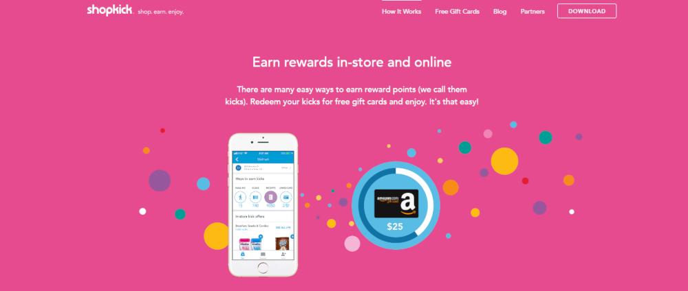 Gagnez avec l'application Shopkick