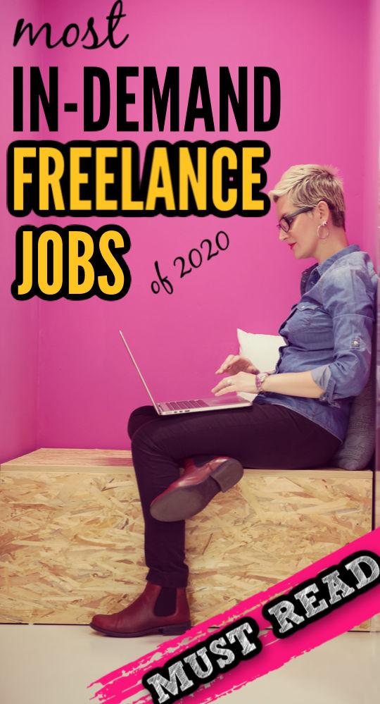 L'année 2020 s'avère difficile pour les employeurs comme pour les employés. Heureusement, ces emplois indépendants en demande peuvent protéger votre carrière contre la récession.