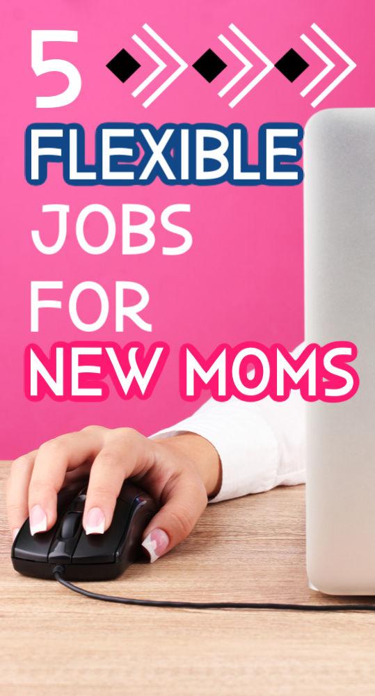 En tant que nouvelle maman, vous travaillez avec un temps limité. Si vous cherchez des moyens de gagner un peu de revenu, essayez l'un de ces cinq emplois flexibles pour les nouvelles mamans.