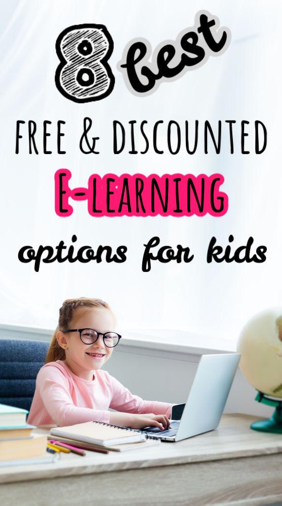 Ce n'est pas parce que l'école est terminée que vos enfants devraient arrêter d'apprendre! Voici huit entreprises offrant des options d'apprentissage en ligne à prix réduits et gratuites pour les enfants.