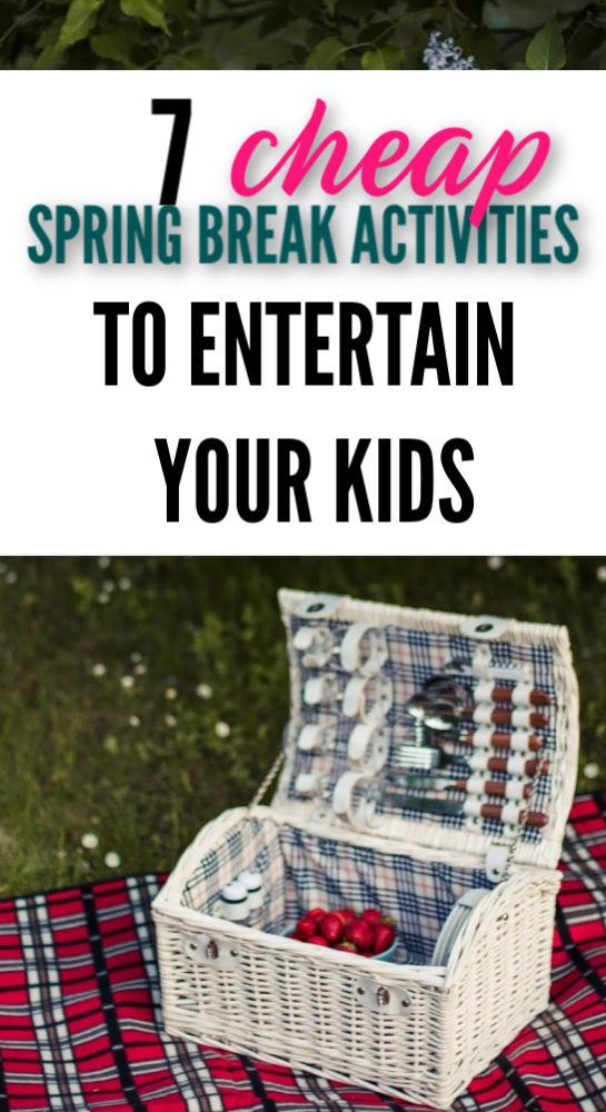 Vous cherchez à garder vos enfants enthousiastes? Essayez ces sept idées amusantes qui sont faciles sur le budget.