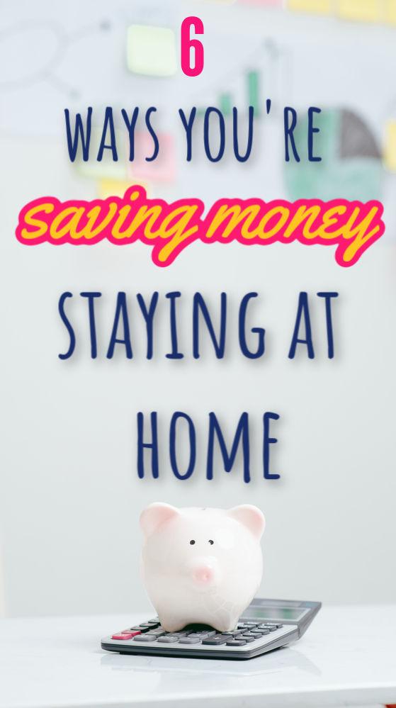 Bien que rester à la maison ne soit pas idéal, il est accompagné d'une doublure argentée inattendue. Voici sept façons d'économiser de l'argent en restant à la maison.