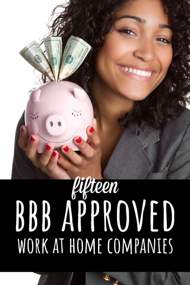 Pour chaque travail légitime à domicile, il existe au moins dix escroqueries. Si vous éprouvez des difficultés à trouver un emploi, essayez cette liste de travaux approuvés par BBB dans les entreprises d'origine.