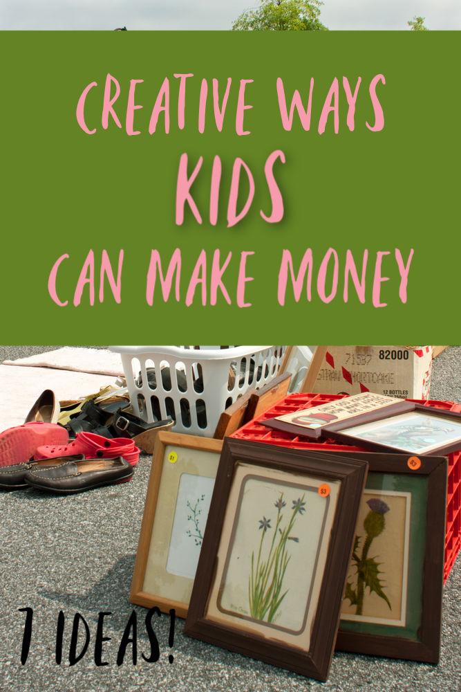 Votre enfant cherche-t-il à gagner de l'argent supplémentaire? Voici sept façons créatives pour les enfants de gagner de l'argent. Et si votre enfant a plus de 13 ans, il y a encore plus d'options!