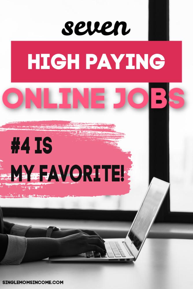 Emplois en ligne très rémunérateurs. J'adore cette liste!