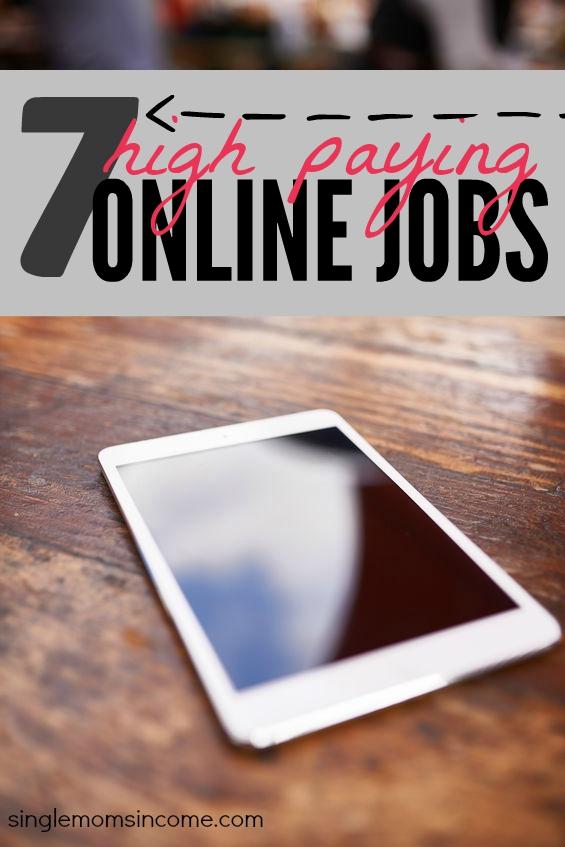 Vous cherchez des emplois en ligne très rémunérateurs? Voici sept emplois légitimes et en demande qui ont un potentiel de revenu incroyable. Mieux encore, vous pouvez travailler à domicile!