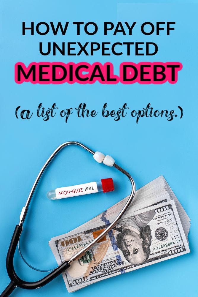 Comment rembourser une dette médicale imprévue