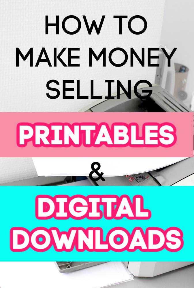 Vous recherchez une agitation latérale semi-passive? Voici comment gagner de l'argent en vendant des imprimables et des téléchargements numériques, ainsi que d'excellents conseils de départ.