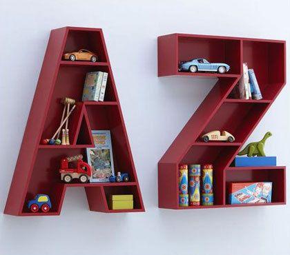 Idées créatives d'étagères pour enfants