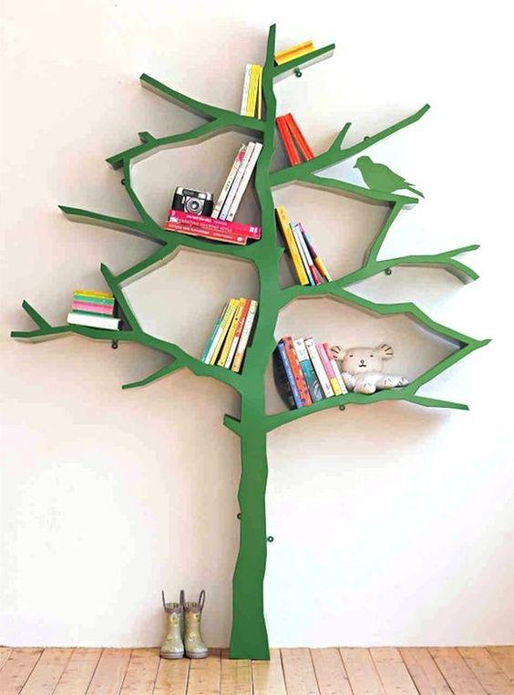 bibliothèque-arbre
