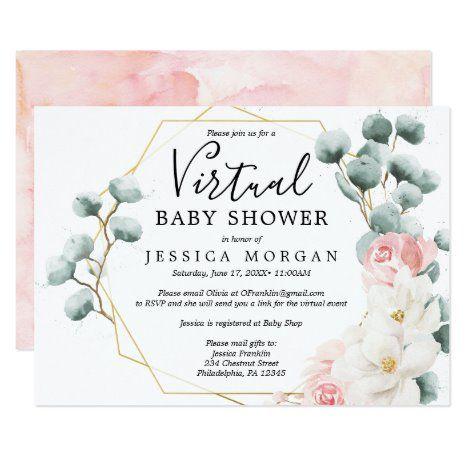 Lancer une baby shower virtuelle